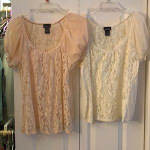 Rue21 lace top bundle